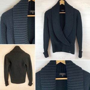 Ted Baker Black Pullover Sweater Wool Blend, 2